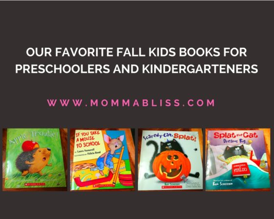 Fall Favorite Kids Books for Preschoolers and Kindergartens