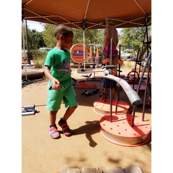 Kid Exploring Track