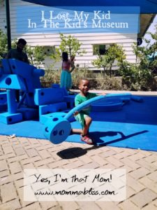 I Lost My Kid at the Kid's Museum
